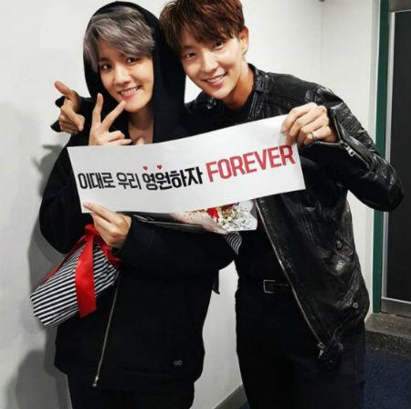 俳優イ・ジュンギが「EXO」ベクヒョンとの格別な友情をアピールした。(提供:OSEN)