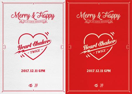 「TWICE」、12月11日にリパッケージアルバム発売=タイトル曲は「Heart Shaker」(提供:OSEN)