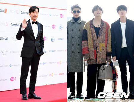 俳優ナムグン・ミン&「防弾少年団」、韓国放送大賞で俳優部門・歌手部門を受賞