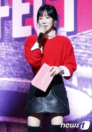 韓国ガールズグループ「少女時代」メンバーのテヨンが、交通事故を起こしたことが分かった。(写真提供:news1)
