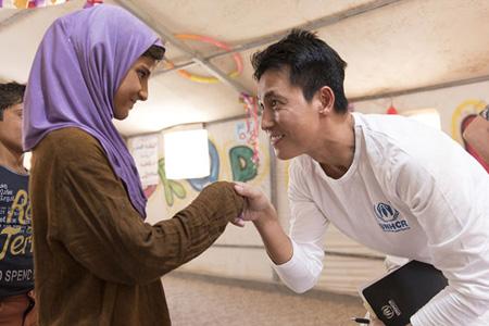 【公式】俳優チョン・ウソン、ロヒンギャ難民を救済へ=UN難民機構に5千万ウォン寄付(提供:OSEN)