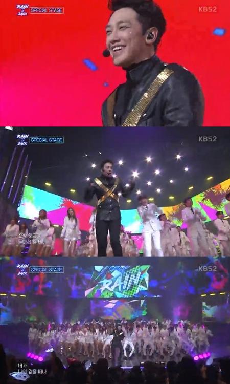 """""""カムバックショー""""Rain(ピ)、「THE UNIT」参加者と歴代級のステージ披露! (提供:OSEN)"""