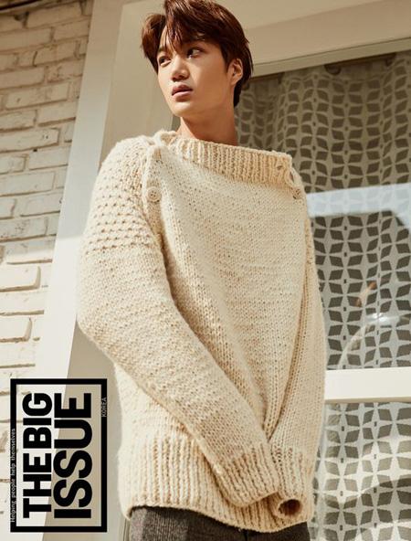 「EXO」KAIが表紙モデルを務めた「BIGISSUE」、2日で完売(提供:OSEN)
