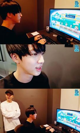 韓国ボーイズグループ「防弾少年団」メンバーのJINが誕生日を迎え、ゲーム放送を配信した。(提供:OSEN)