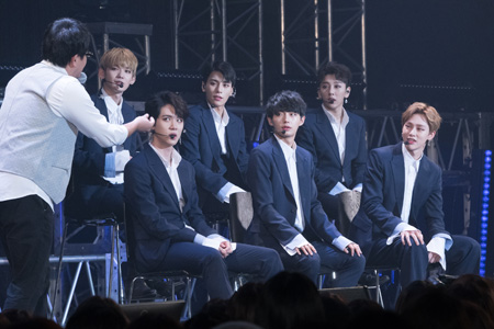 11月23日(木)東京・豊洲PITにて、韓国アイドルグループ「JBJ」の日本初となるファンミーティング「JBJ 1st fan meeting 'Come True' in Japan」が開催された。