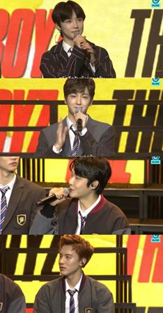 韓国ボーイズグループ「THE BOYZ」が、他のグループとの違いについて語った。(提供:OSEN)