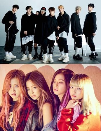 YGエンターテインメントのボーイズグループ「iKON」とガールズグループ「BLACKPINK」がついに新曲を発表する。(提供:OSEN)