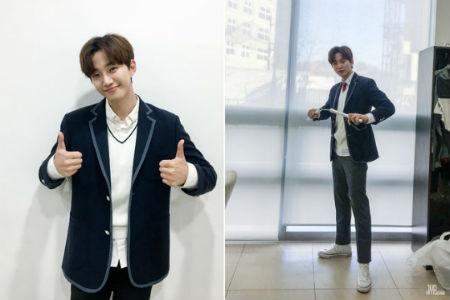9日に放送されたJTBC「知ってるお兄さん」に出演した「2PM」ジュノの楽屋写真が公開された。(提供:OSEN)