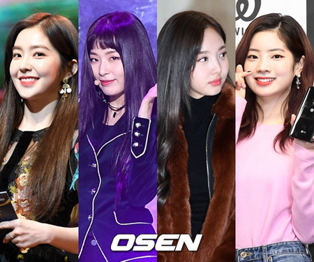 「Red Velvet」アイリーン・スルギ&「TWICE」ナヨン・ダヒョン、「SBS歌謡大祭典」でコラボステージ披露! (提供:OSEN)