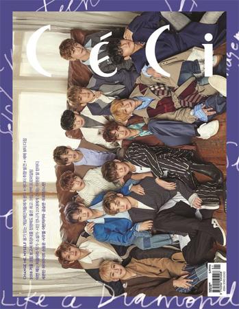 2ndフルアルバム「TEEN, AGE」の活動を成功裏に終えた韓国アイドルグループ「SEVENTEEN」がファッション誌「CeCi」と会った。(提供:OSEN)