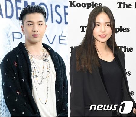 韓国女優ミン・ヒョリン(31)が、ボーイズグループ「BIGBANG」メンバーのSOL(29)と結婚することを認めた。(提供:news1)
