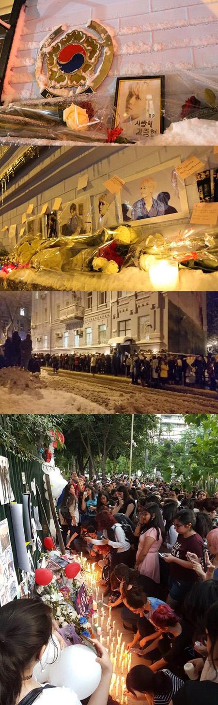 全世界で故ジョンヒョン(SHINee)を追悼…韓国外交部が追悼空間を公開