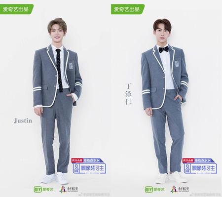 韓国Mnet「プロデュース101(PRODUCE 101)シーズン2」出身のジャスティンとジョンジョンが「偶像練習生」に出演する。(提供:OSEN)