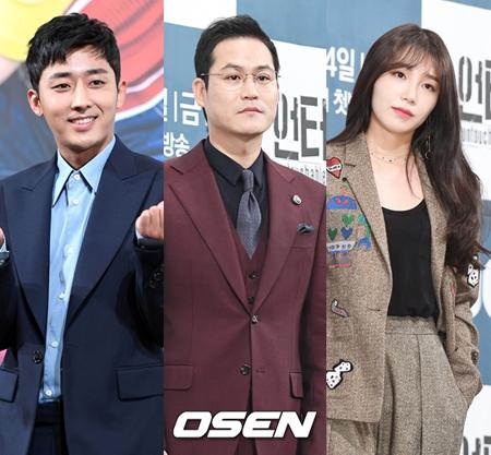 韓国俳優ソン・ホジュンが、キム・ソンギュンとチョン・ウンジ(Apink)に応援のプレゼントを贈った。(提供:OSEN)