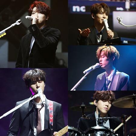 韓国バンド「DAY6」は、22日から25日までソウル・YES24ライブホールで単独コンサート「Every DAY6 Concert in December」を開催。(提供:OSEN)