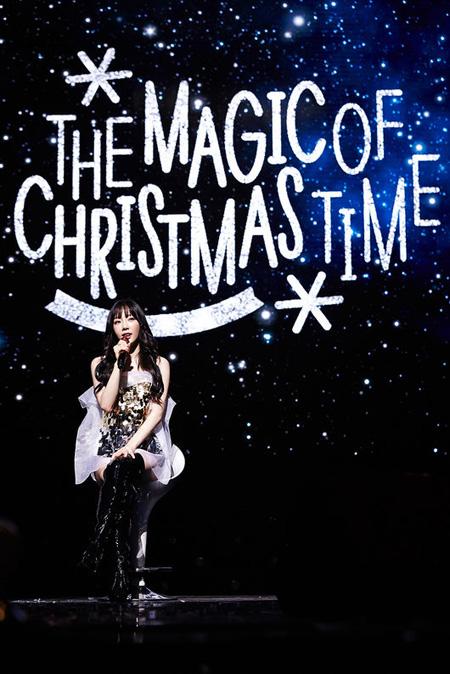 ボーカリスト・テヨン(少女時代)がクリスマスコンサートを成功裏に終えた。(提供:OSEN)