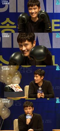 韓国俳優イ・ビョンホンが、映画「それだけが私の世界」の制作秘話を明かした。(提供:OSEN)