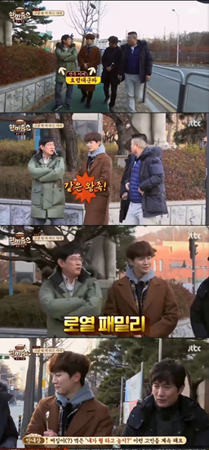 """韓国ボーイズグループ「2PM」メンバーのジュノが、""""ロイヤルファミリー""""だと明かして笑いを誘った。(提供:OSEN)"""