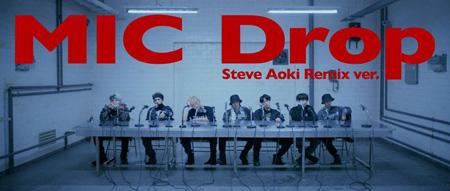 韓国アイドルグループ「防弾少年団」が「MIC Drop」で4週連続、米国ビルボードのメインチャート「HOT100」入りし、また記録を樹立した。(提供:OSEN)