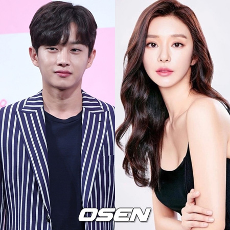 韓国俳優キム・ミンソクとモデルのイ・ジュビン側が「お互いに親しいのは事実だが、交際している関係ではない」と公式立場を出した。(提供:OSEN)
