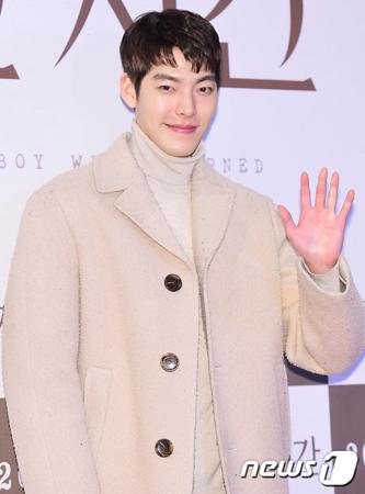 鼻咽頭がん闘病中の韓国俳優キム・ウビンが、近況をファンサイトで報告した。(提供:news1)