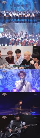 韓国ボーイズグループ「SEVENTEEN」が、「KBS管弦楽団」とコラボステージを披露した。(提供:news1)