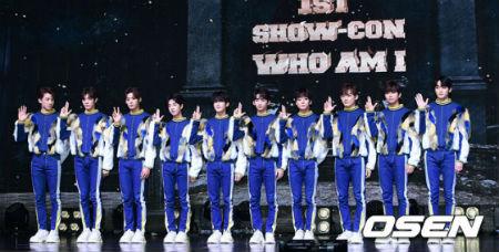 「TRCNG」が2日午後、ソウル・YES24 LIVE HALLで1stシングル「WHO AM I」発売記念ショーケースを行った。(提供:OSEN)
