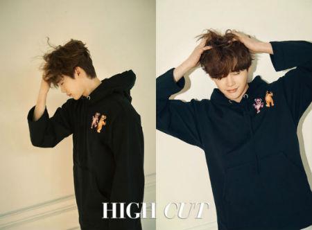 4日に発売されるスター・スタイル・マガジン「HIGH CUT」新年号のカバーを飾ったイ・ジョンソク。(提供:OSEN)