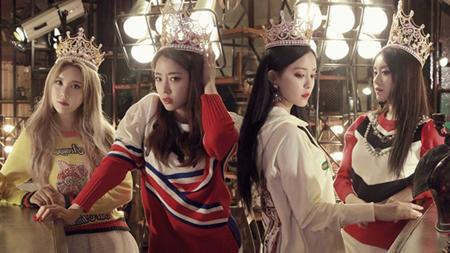 韓国ガールズグループ「T-ARA」ヒョミン(28)がMBKエンターテインメントとの決別を明かした。(提供:OSEN)