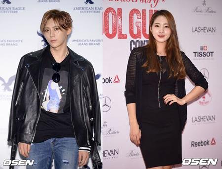 歌手チャン・ヒョンスン&元新体操シン・スジ、熱愛説が浮上(提供:OSEN)