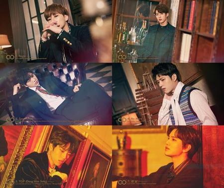 韓国ボーイズグループ「INFINITE」のニューアルバムの全曲を楽しめる特別映像が公開された。(提供:OSEN)