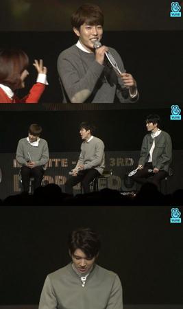 韓国ボーイズグループ「INFINITE」のソンヨルが、特別な1位公約を決めた。(提供:OSEN)