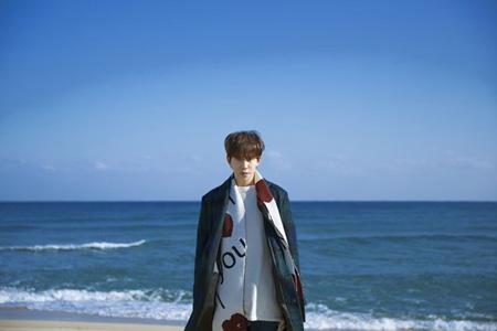韓国アイドルグループ「Block B」パクキョン(25)が音源チャート1位の心境を伝えた。(提供:OSEN)