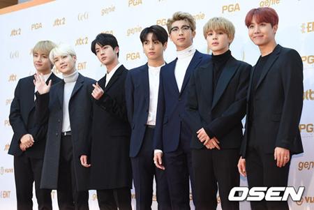 韓国アイドルグループ「防弾少年団」が「ゴールデンディスクアワード」に出席する心境を明かした。