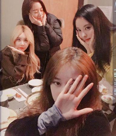 韓国ガールズグループ「T-ARA」のメンバーが変わらぬ友情を誇った。(提供:OSEN)