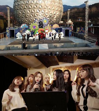 韓国ガールズグループ「Weki Meki」が、初めてリアルバラエティ番組に挑戦する。(提供:OSEN)