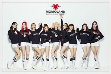 「MOMOLAND」の新曲「BBoom BBoom」が英国、フランス、米国、日本で爆発的な人気を呼んでいる。(提供:OSEN)