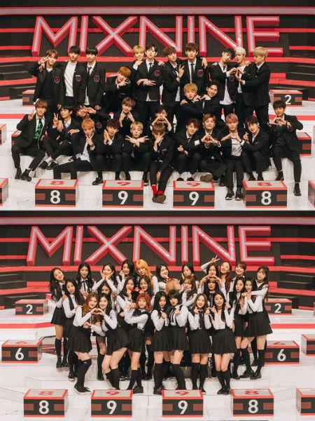 「MIX NINE」の最終デビュー組選抜戦が、26日に生放送で行われることが分かった。(提供:OSEN)