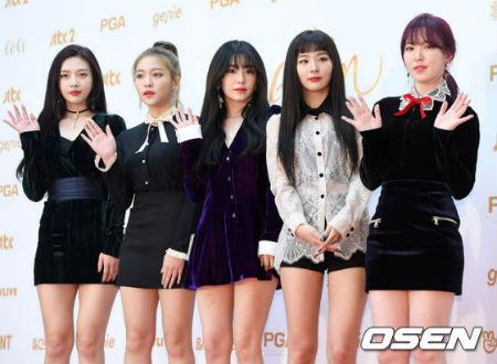 「Red Velvet」がSBS「人気歌謡」1位の感想を明かした。(提供:OSEN)