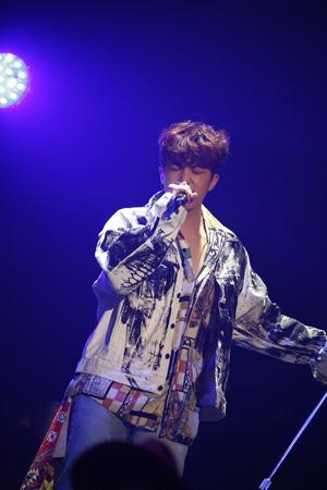 韓国アイドルグループ「2PM」ウヨン(28)が軍入隊計画を明かした。(提供:news1)