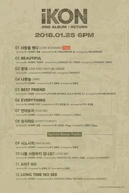 「iKON」B.I、2ndフルアルバム全曲の作詞・作曲に参加! PSY&TABLOが援護射撃(提供:news1)