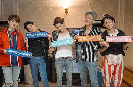 メンバー失った「SHINee」が再出発へ 「ジョンヒョンを感じながら活動する…応援してほしい」(提供:news1)