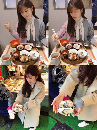 韓国女優チョン・ソミン(28)がイ・ジュン(29、元MBLAQ)との熱愛発覚後、日本での近況を伝えた。(提供:OSEN)