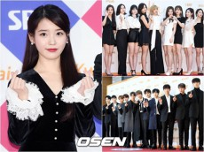 IU・「TWICE」・「Wanna One」ら、「Gaonチャートミュージックアワード」1次ラインナップ確定! (提供:OSEN)