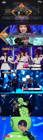 韓国ボーイズグループ「INFINITE」が、「M COUNT DOWN」1月第3週の1位を獲得した。(提供:news1)