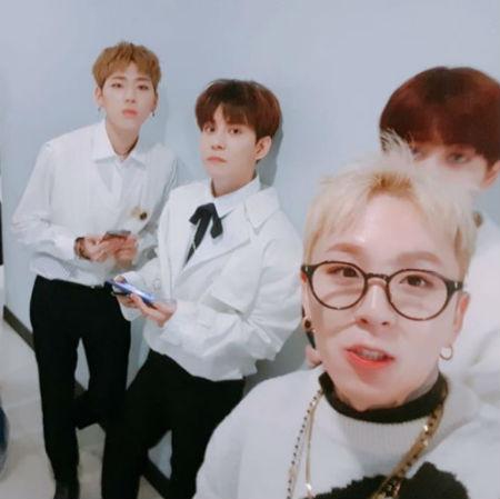 「Block B」パクキョンが、SBS「人気歌謡」をもって、活動を終えた感想を伝えた。(提供:OSEN)