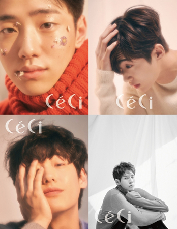 ファッション誌「CeCi」、今年注目すべき俳優4人を公開! キム・ヒョンジュンらモデル出身の注目株(提供:news1)