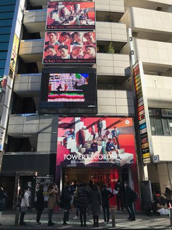 海外アーティスト初! 「EXO」だけの専門店「TOWER RECORDS EXO」が渋谷のど真ん中にOPEN! (オフィシャル)