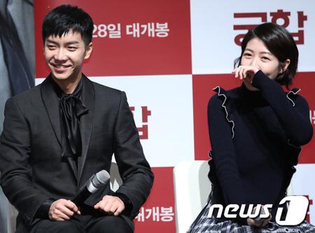 韓国俳優イ・スンギ(31)が映画「相性」を選択した理由に女優シム・ウンギョン(23)を挙げた。