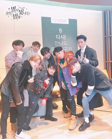 「iKON」、最近関心のあるアイドルに「MOMOLAND」を挙げる(提供:OSEN)